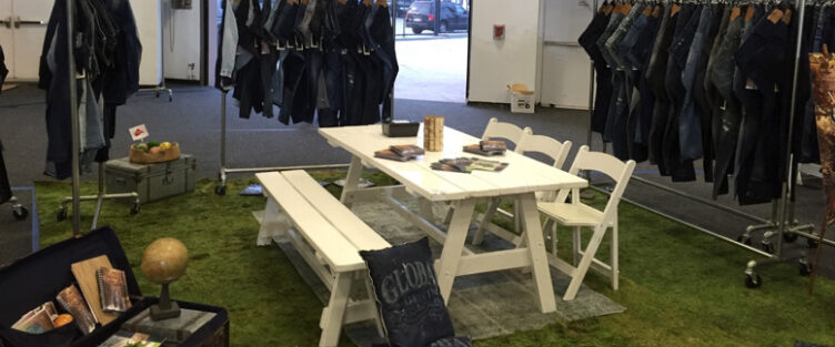 "Global Denim destacado en  Sportswear International en su artículo ""Highlights from Kingpins NY""."