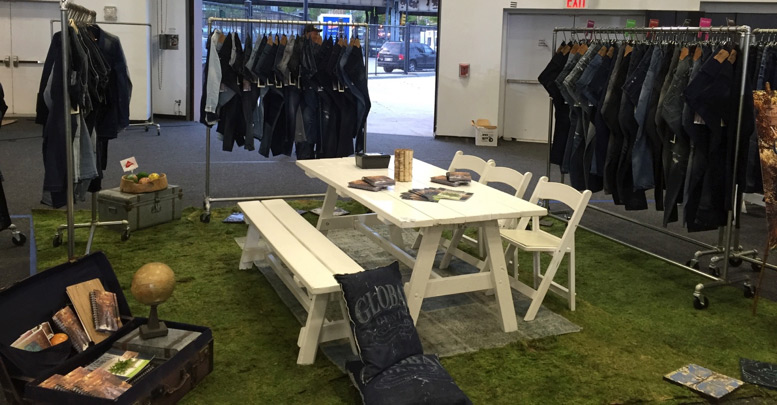 """Global Denim Featured on Sportswear International """"Highlights from Kingpins NY"""" Article."""