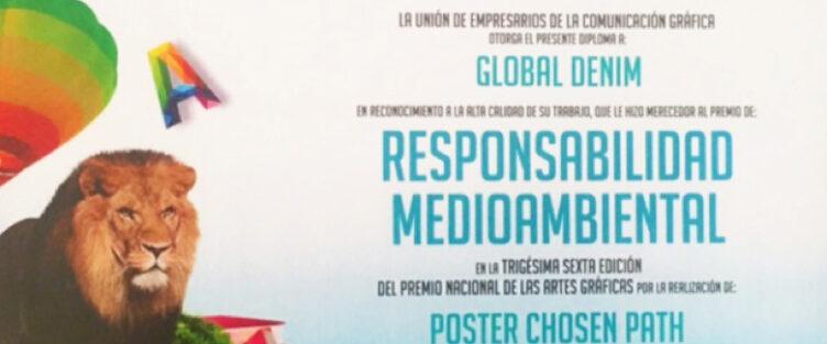 Global Denim gana concurso nacional de diseño gráfico