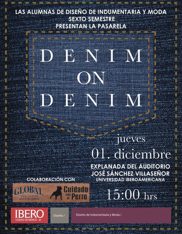 Global Denim collaborates with students of the fashion program at Universidad Iberoamericana on a Denim Runway