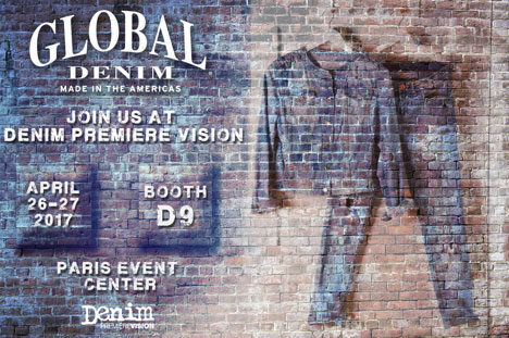 Global Denim® to participate for the first time at Denim Premiere Vision in Paris