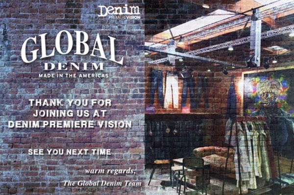 Thank you for visiting us at Denim Premier Vision
