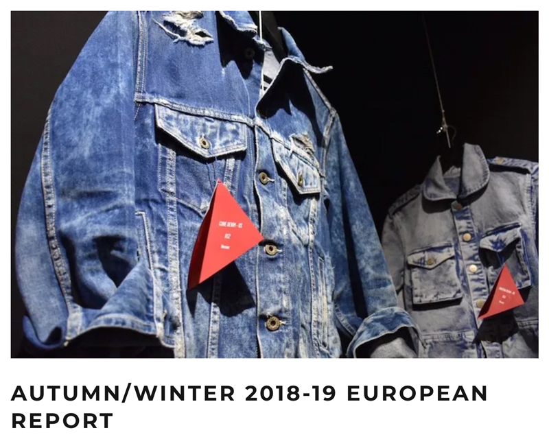 "Global Denim® destacado en el ""A/W 18-19 European Report"" en Rivet"