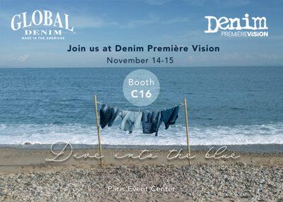 Global Denim® to showcase its newest campaign at Denim Première Vision