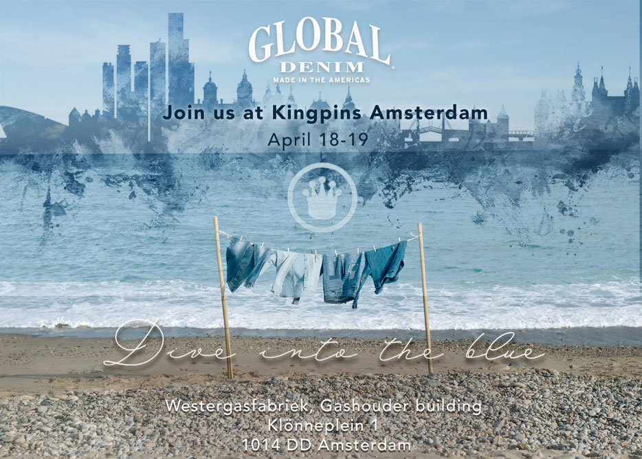Global Denim at Kingpins Amsterdam!!