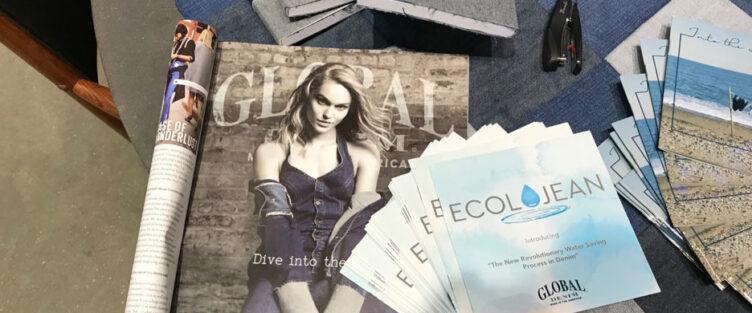 Global Denim Beautiful Ad on Rivet magazine