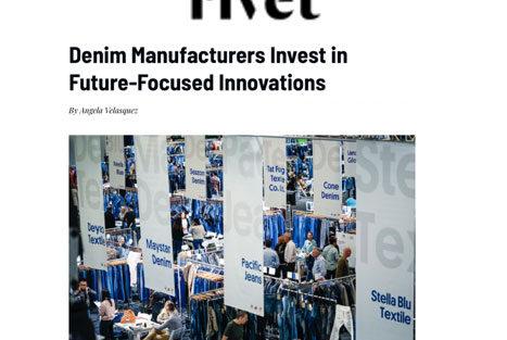 """Global Denim Habla de Sustentabilidad y Evolución en el Nuevo Artículo de Sourcing Journal /Rivet, titulado """"Denim Manufacturers Invest in Future-Focused Innovation"""""""